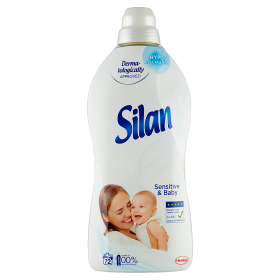 Silan Sensitive & Baby 72 praní 1800 ml