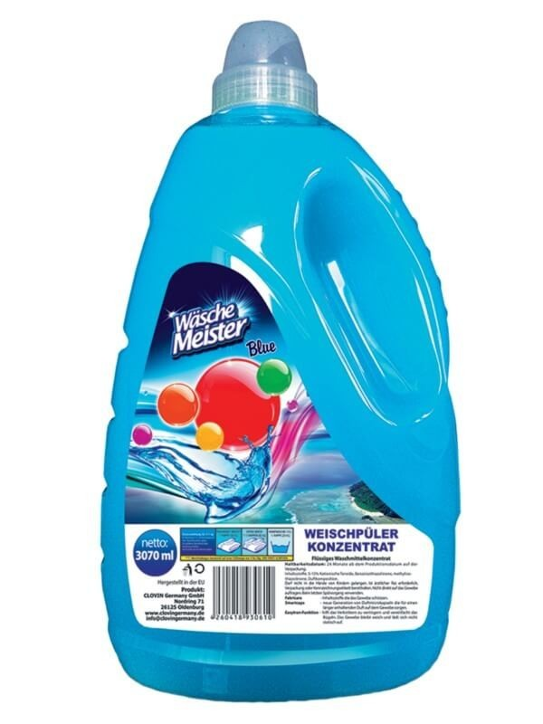 Wäsche Meister aviváž Blue, 77 praní 3,07 l