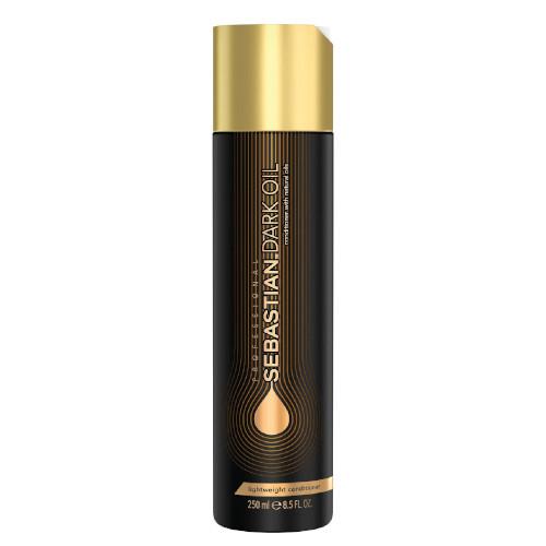 Fotografie Sebastian Professional Vyživující šampon pro lesk a hebkost vlasů Dark Oil (Lightweight Shampoo) 1000 ml