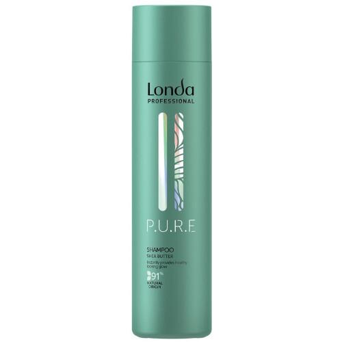 Londa Professional Jemný šampon pro suché vlasy bez lesku P.U.R.E (Shampoo) 250 ml