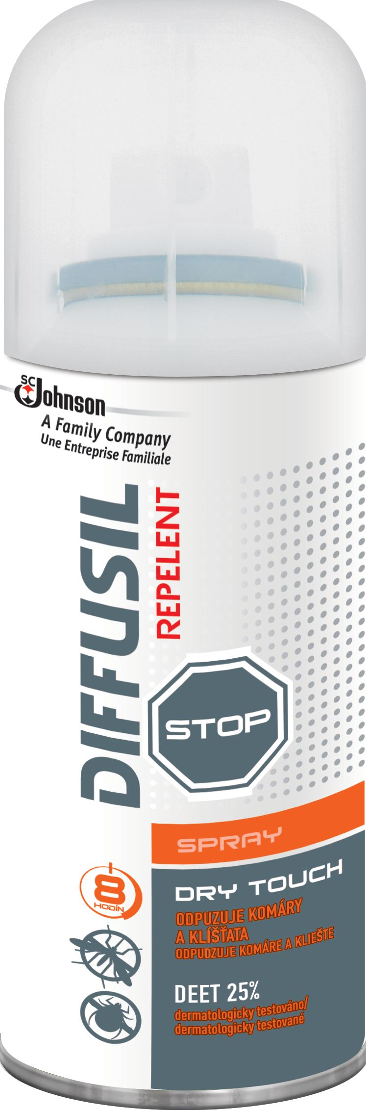 Diffusil Dry repelent sprej 100 ml