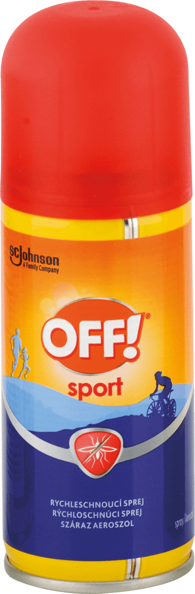 OFF! Sport repelent sprej 100 ml