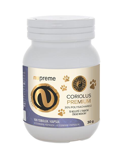 Coriolus Versicolor extract 30% NUPREME 100 kapslí