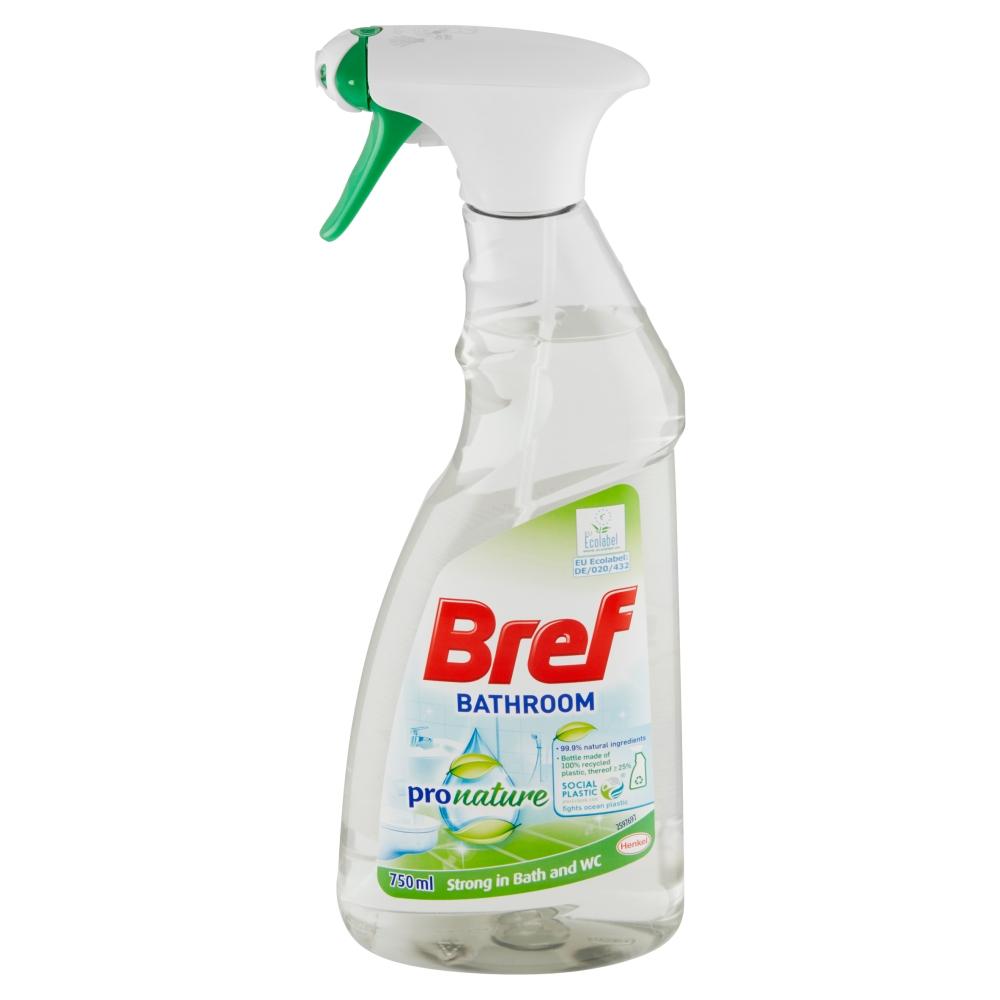 Bref Pro nature čistič koupelny 750 ml