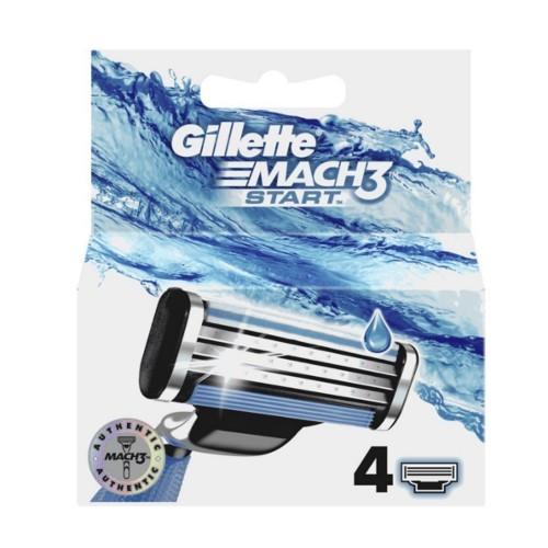 Gillette Náhradní hlavice Mach3 Start 4 ks