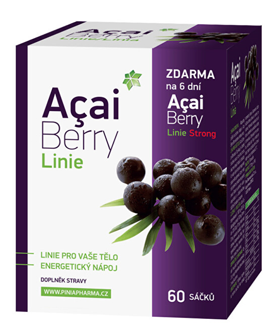 Acai Berry Linie 60 sáčků + dárek Acai Berry Strong zdarma