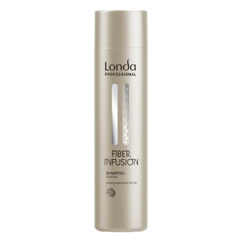 Londa Professional Obnovující šampon s keratinem pro poškozené vlasy Fiber Infusion (Shampoo) 250 ml