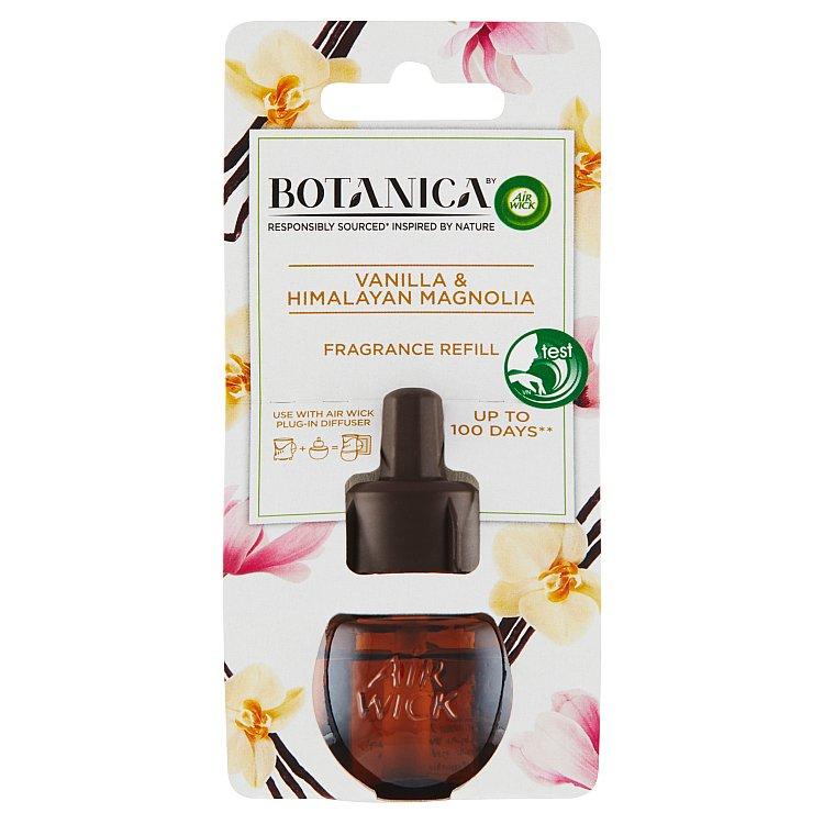 Botanica by Air Wick náplň do elektrického přístroje vanilka a himalájská magnolie 19 ml
