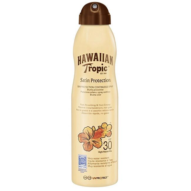 Hawaiian Tropic Opalovací sprej SPF 30 Satin Protection (Spray) 220 ml