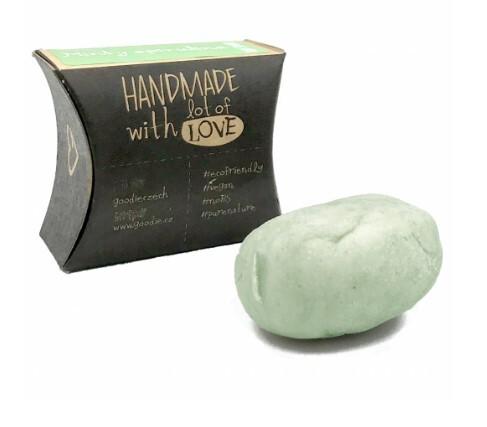 Tuhý šampon - Minty Spirulina 45 g