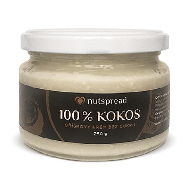 100% kokosové máslo Nutspread křupavé 250 g