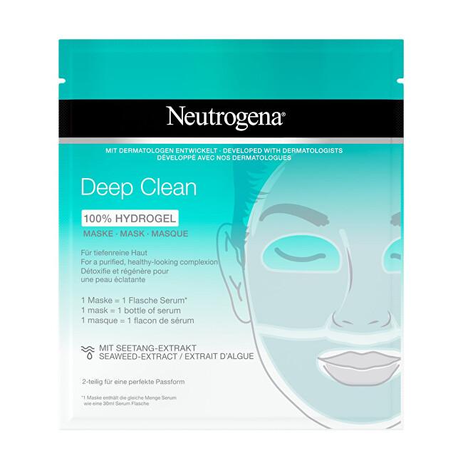 Neutrogena Hydrogelová maska Deep Clean (100 % Hydrogel Mask) 1 ks/bal.