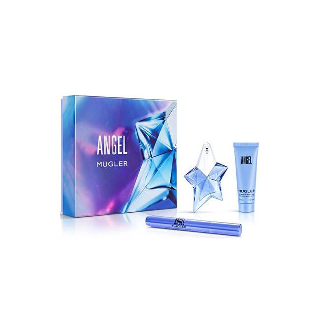 Thierry Mugler Angel - EDP 50 ml + tělové mléko 100 ml + parfemovaný kartáček 7 ml