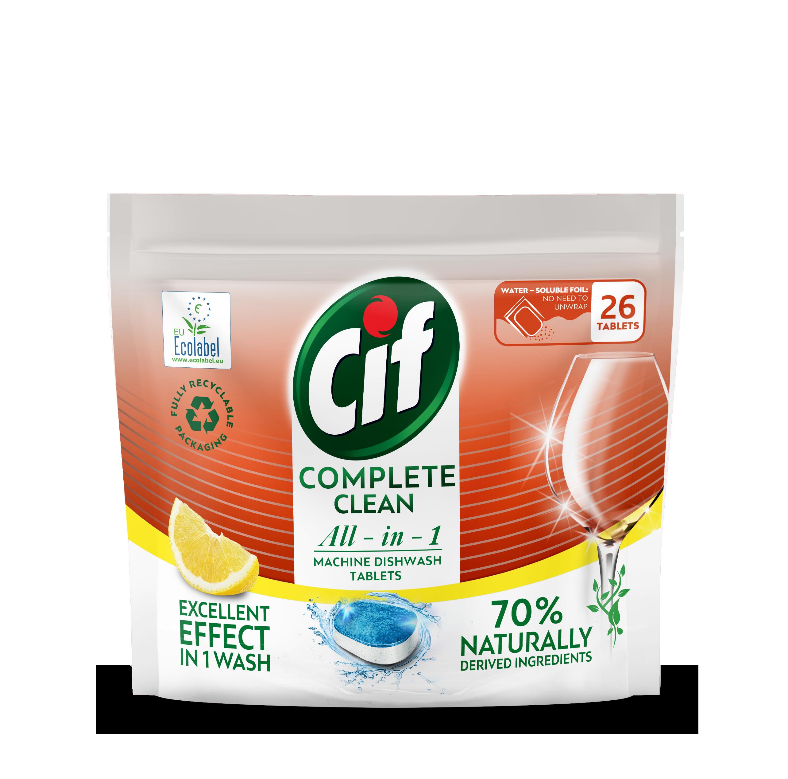 Cif tablety do myčky All-in-1 Citrus 26 ks/bal.