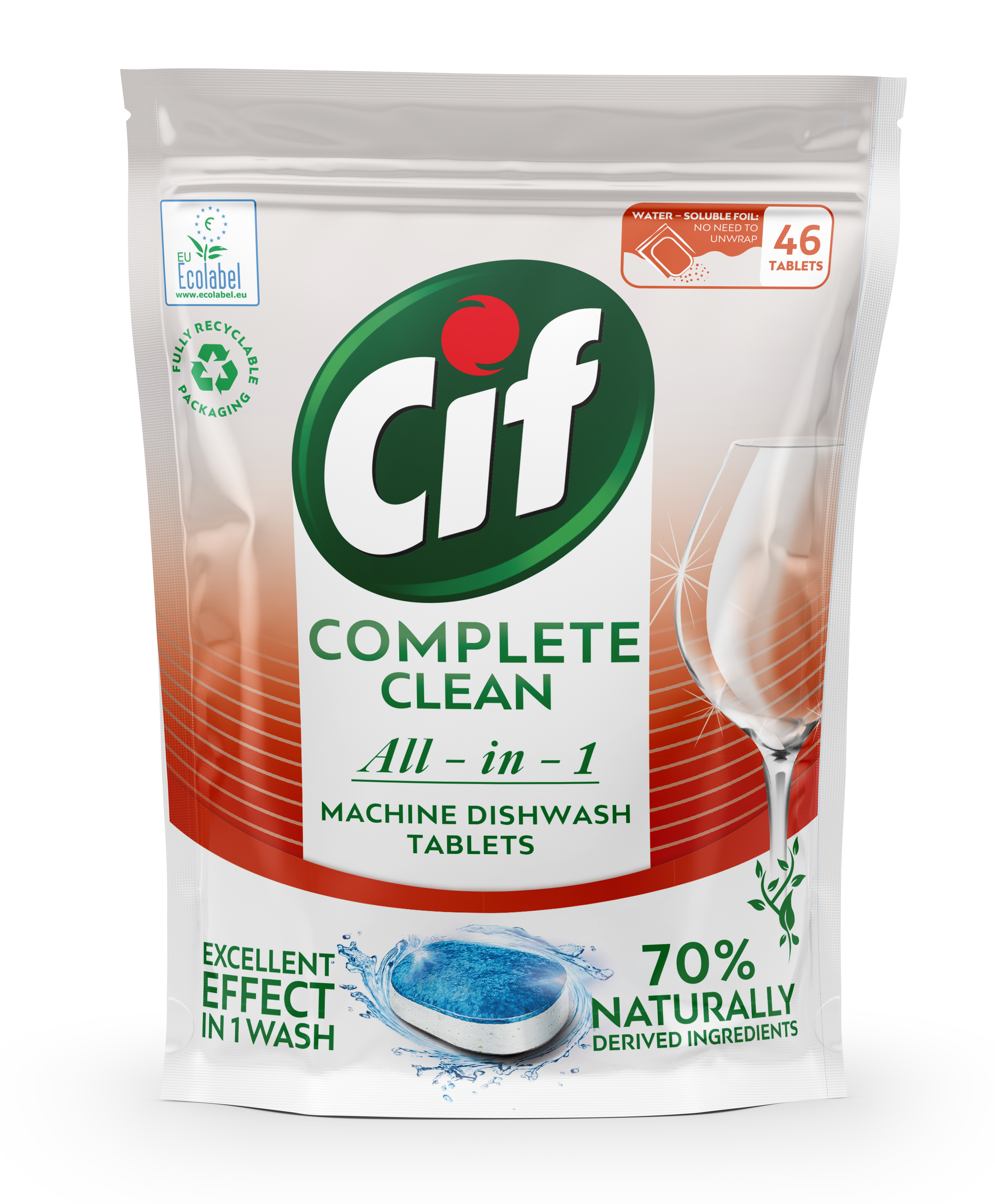 Cif tablety do myčky All-in-1 46 ks/bal.