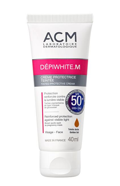ACM Tónovaný ochranný krém SPF 50+ Dépiwhite M (Tinted Protective Cream) 40 ml
