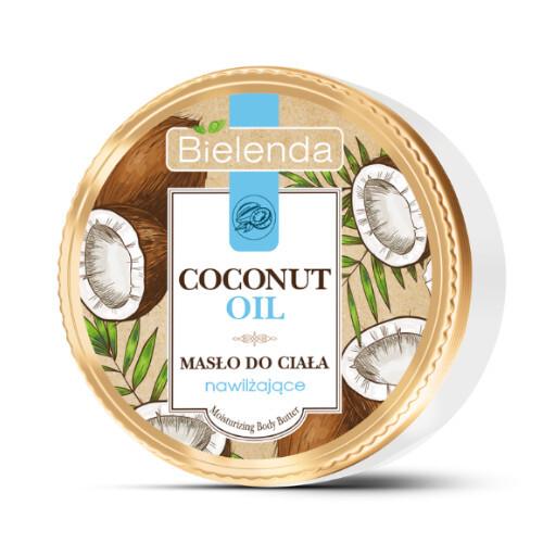 Bielenda Hydratační tělové máslo Coconut Oil (Moisturizing Body Butter) 250 ml