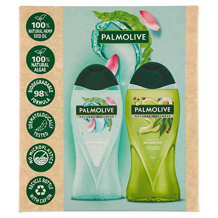 Palmolive Natural Wellness dárková sada 2 ks