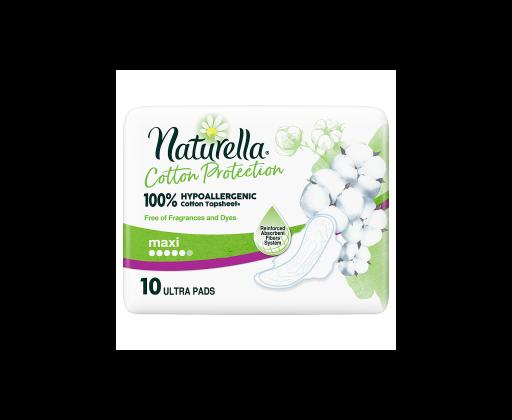 E-shop Naturella Cotton Protection Ultra Maxi Hygienické Vložky S Křidélky 10 ks/bal.