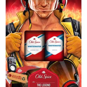 Old Spice Whitewater Fireman Vánoční Dárková Sada Pro Muže 2 ks/bal.