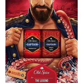 Old Spice Captain Vánoční Dárková Sada Pro Muže 2 ks/bal.