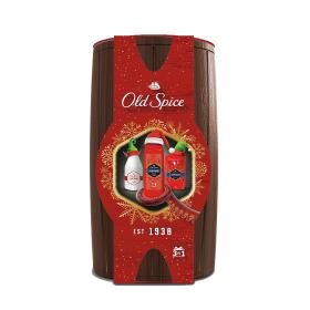 Old Spice Captain Wooden Barrel Vánoční Dárková Sada Pro Muže 3 ks/bal.