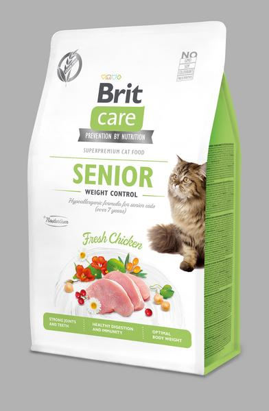 Brit Care Cat Grain-Free Senior Weight Control 0,4kg