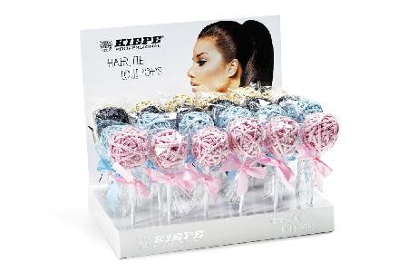 KIEPE Professional Gumičky do vlasů Lollipops Gold 24 ks/bal.