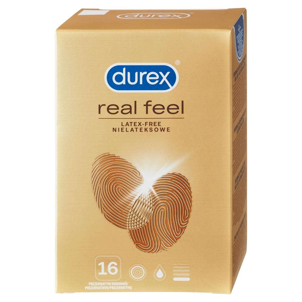 Durex Real Feel kondomy 16 ks