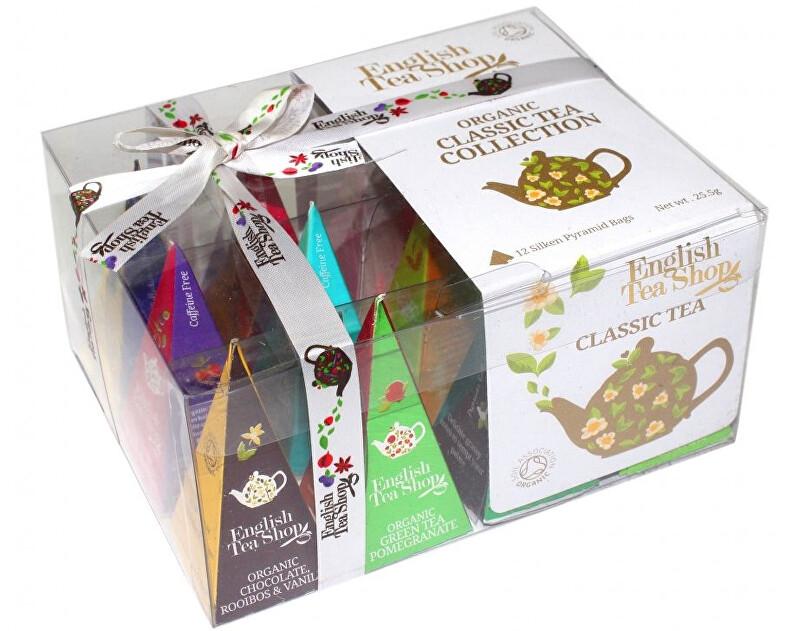 Dárková kolekce Klasický čajů 12 pyramidek