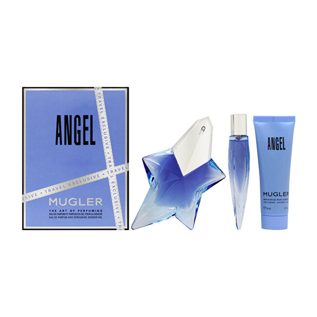 Thierry Mugler Angel - EDP 50 ml + EDP 10 ml + tělové mléko 50 ml