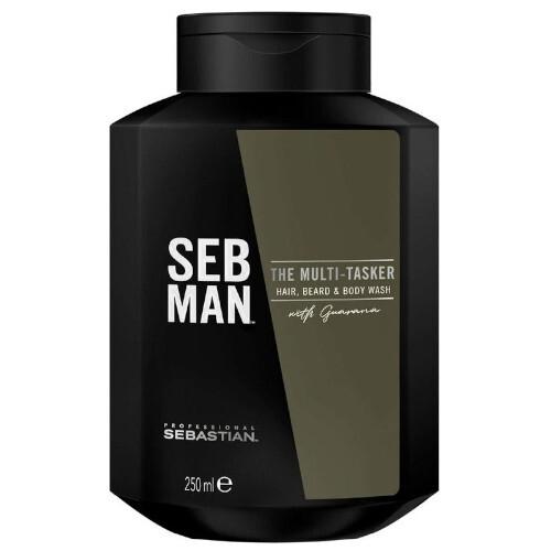 Sebastian Professional Šampon na vlasy, vousy a tělo SEB MAN The Multitasker (Hair, Beard & Body Wash) 50 ml