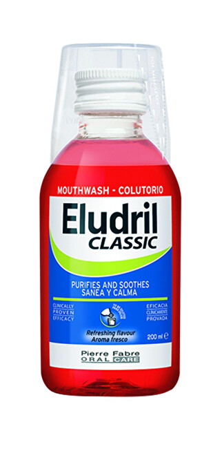 ELGYDIUM Ústní voda Eludrill Care 1000 ml