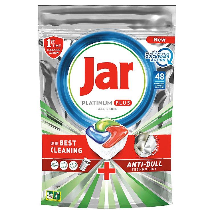 Jar Platinum Plus Kapsle Do Automatické Myčky Nádobí Vše V Jednom Regular 48 ks