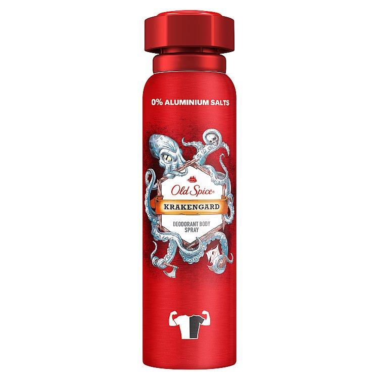Old Spice Krakengard Tělový Deodorant Ve Spreji Pro Muže 150 ml