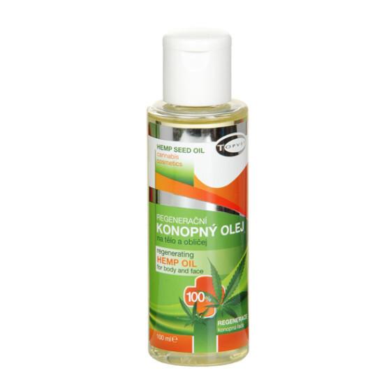 Regenerační konopný olej 100% 100 ml