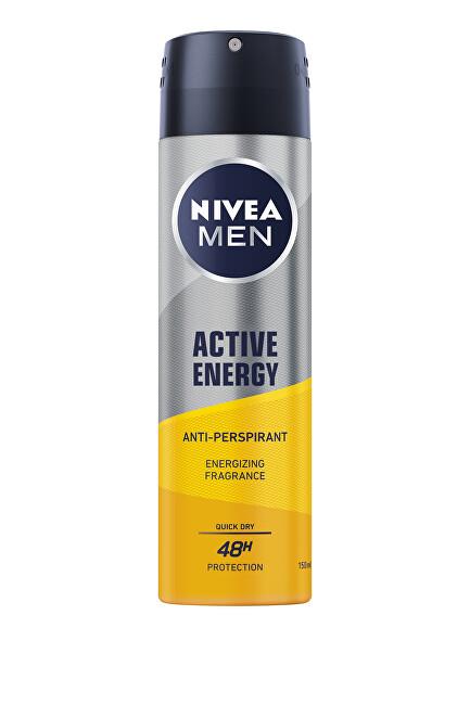 Nivea Antiperspirant ve spreji Men Active Energy 150 ml