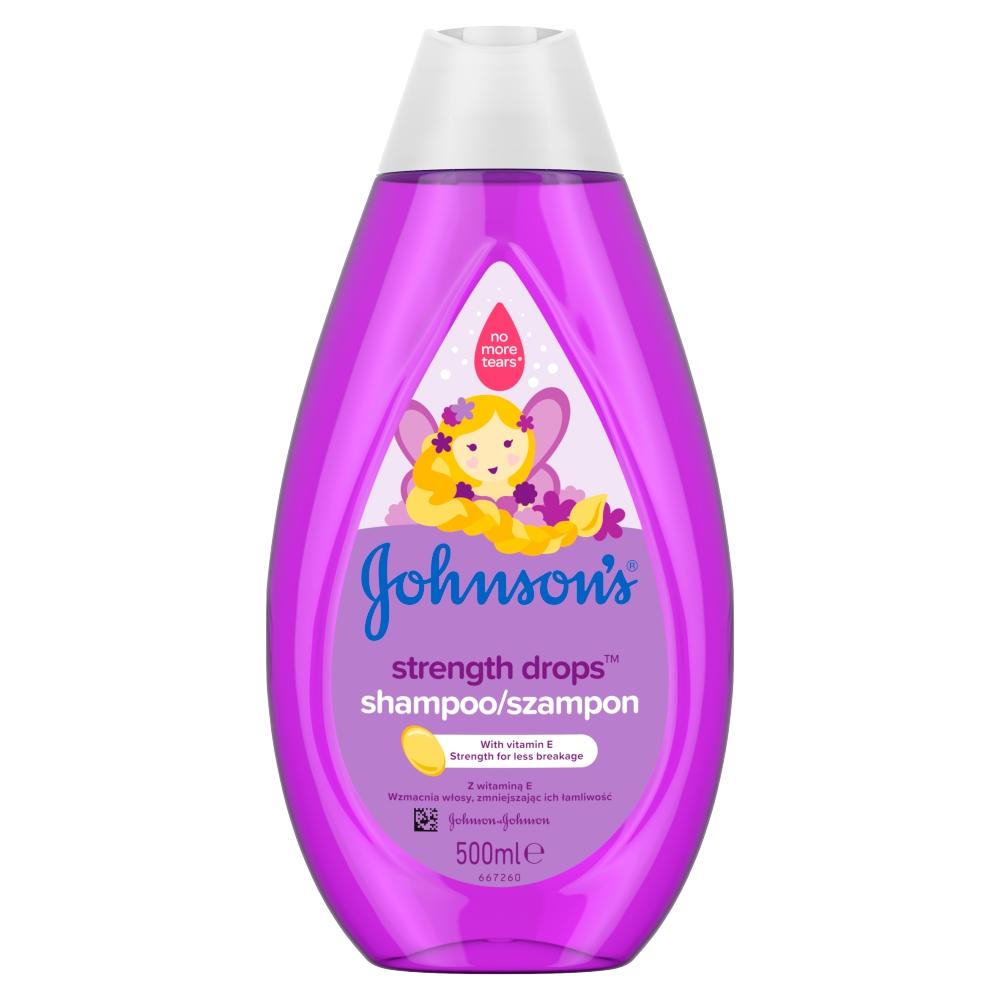 Johnson's Baby Strength Drops posilující šampon 500 ml