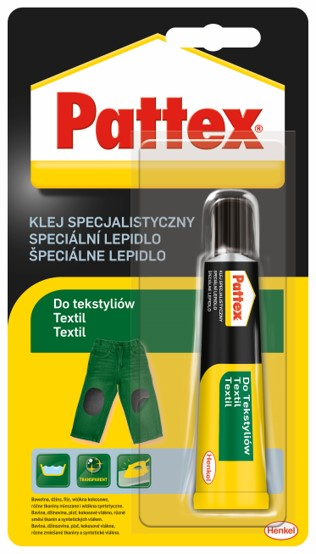 Pattex speciální lepidlo na textil 20 g