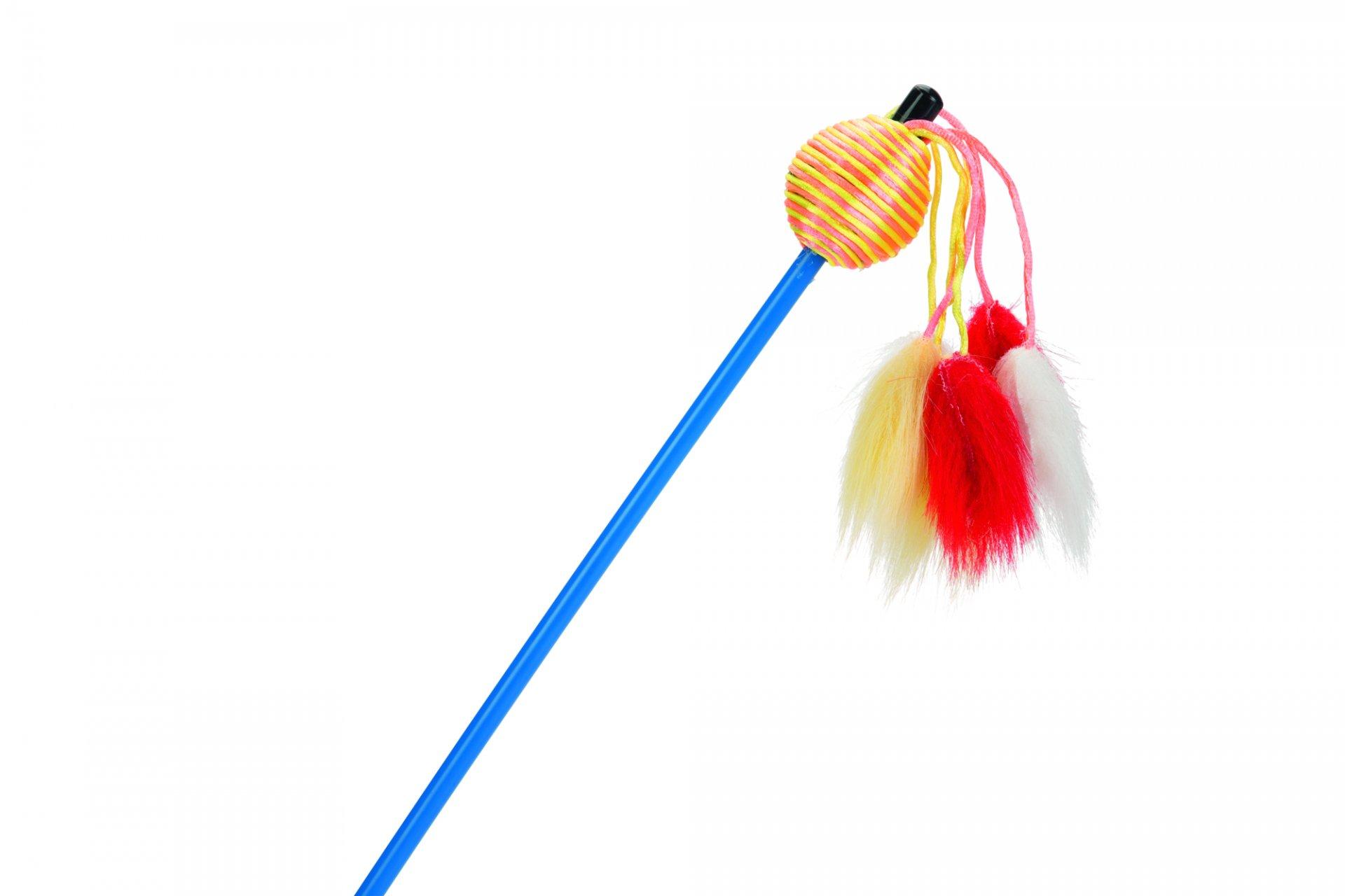 Beeztees Škádlítko pro kočky rybářský prut 60cm