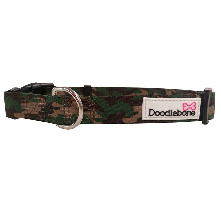 Doodlebone obojek, Army, velikost XS