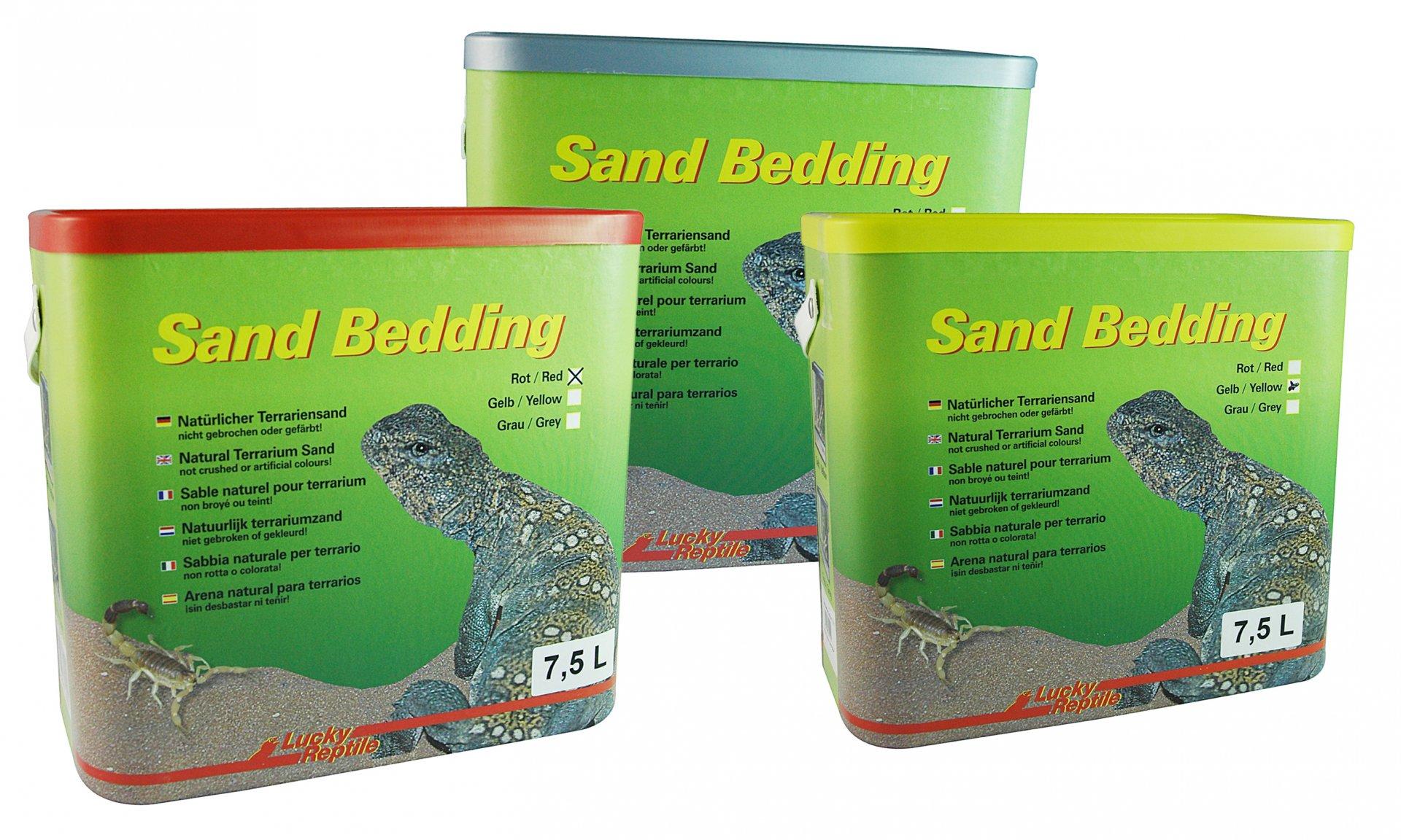 Lucky Reptile Sand Bedding Červený s jílem 7,5L