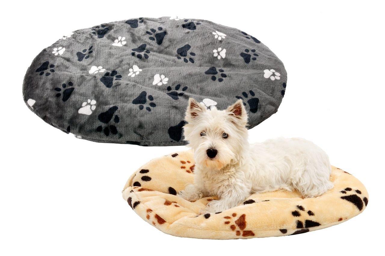 Karlie Pelech pro psy oválný šedý 60x50x4cm