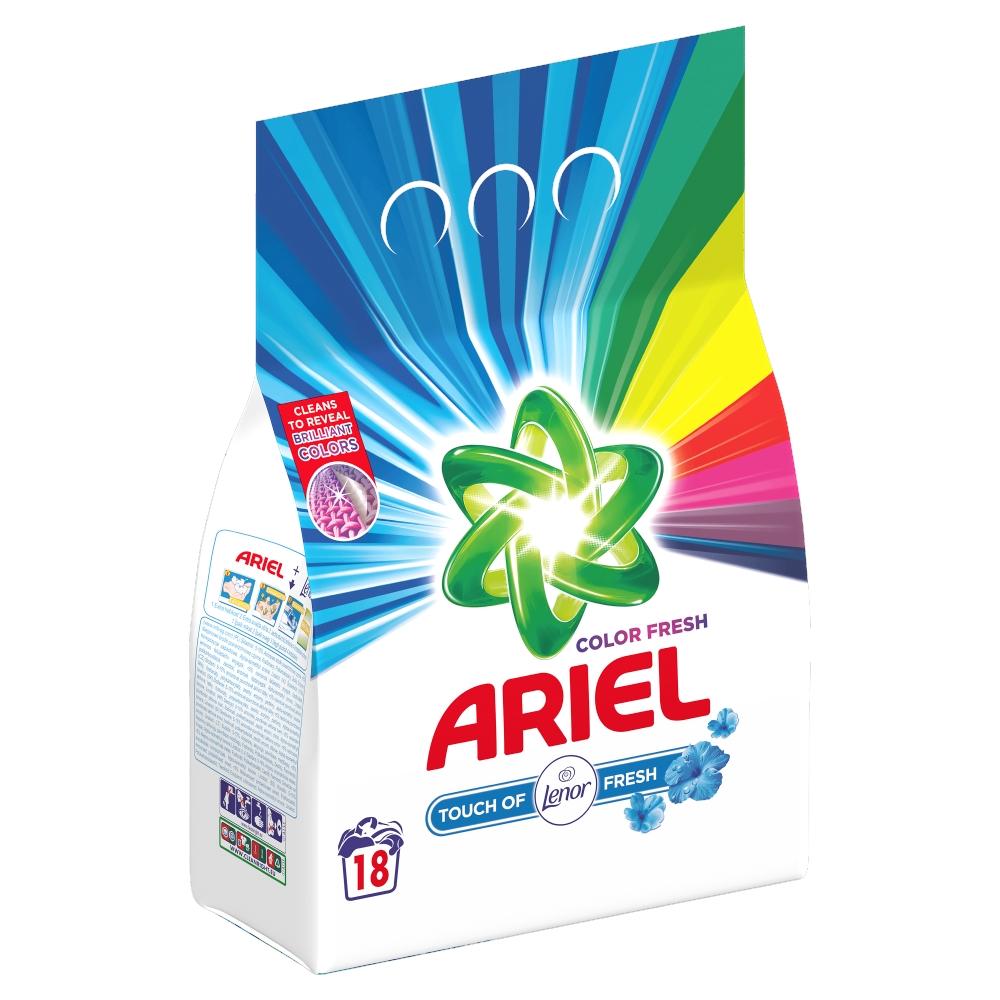 Ariel Prací prášek Touch Of Lenor Fresh Color, 18 praní 1,35 kg