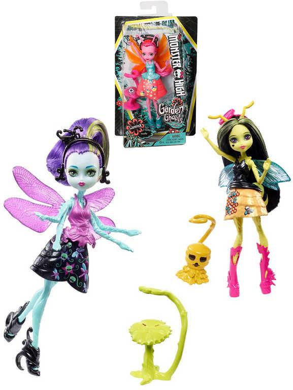 MATTEL Panenka Monster High 13cm straškouzelná ghúlka různé druhy