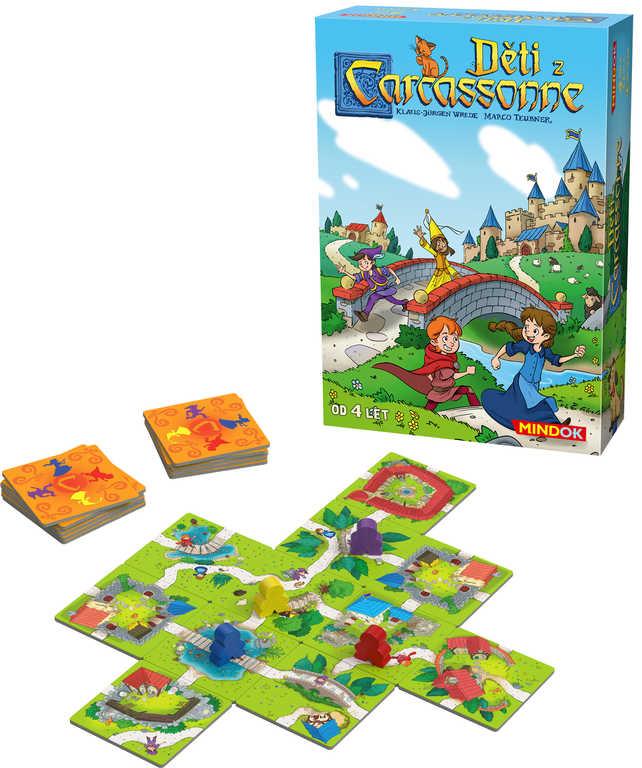 MINDOK HRA Carcassonne děti *SPOLEČENSKÉ HRY*