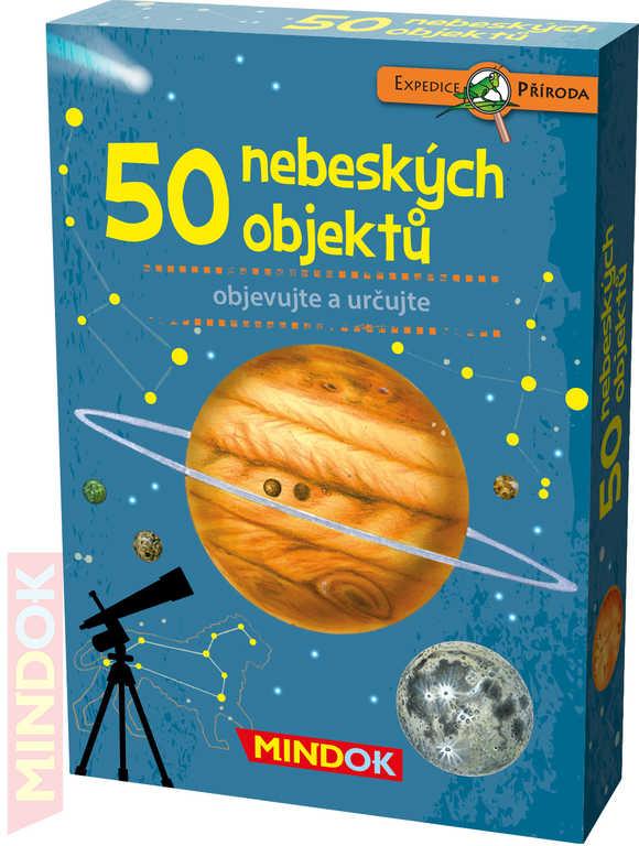 MINDOK HRA kvízová Expedice Příroda: 50 nebeských objektů naučná