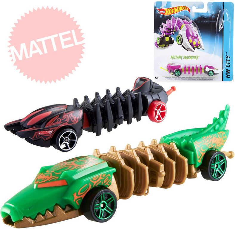 MATTEL HOT WHEELS Auto Mutant plastové 7 druhů na blistru