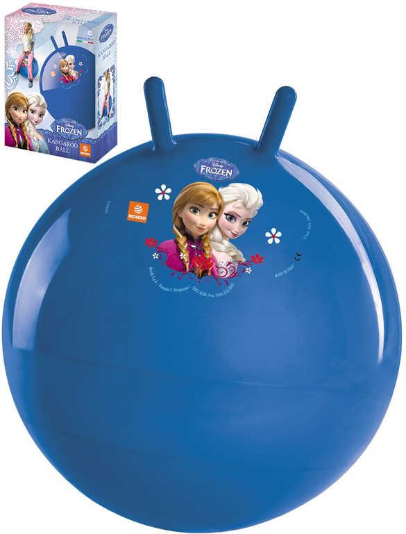 MONDO Míč nafukovací skákací balon 50cm Frozen (Ledové Království) v krabici