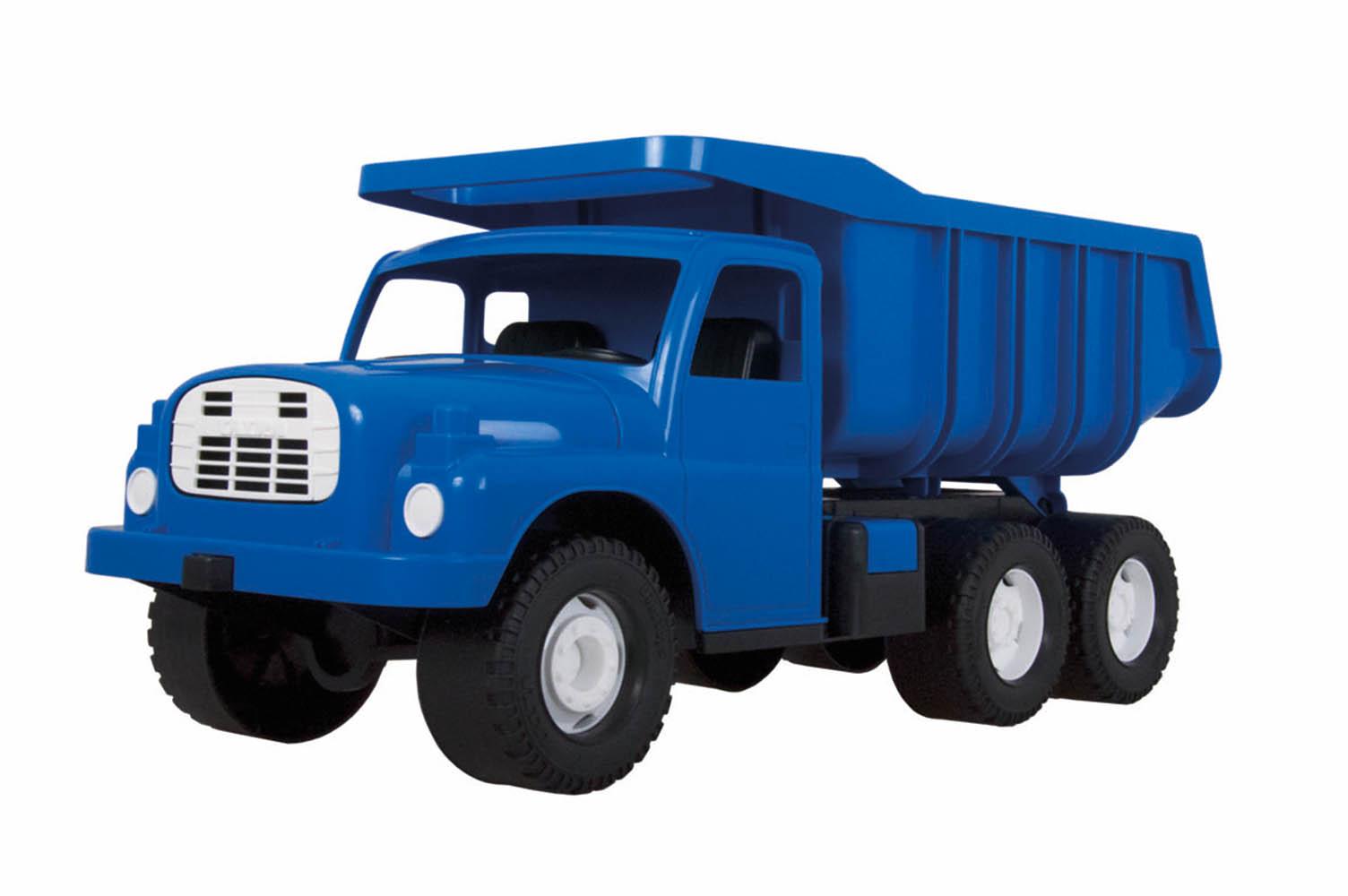 Auto Tatra 148 modrá plastová
